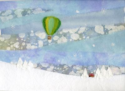 冬の空中散歩